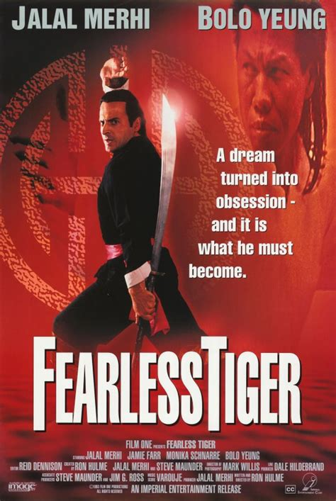 Fearless Tiger Movie Posters From Movie Poster Shop