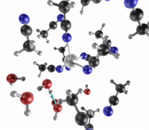 MD simulation of metal ions in solution - Section of