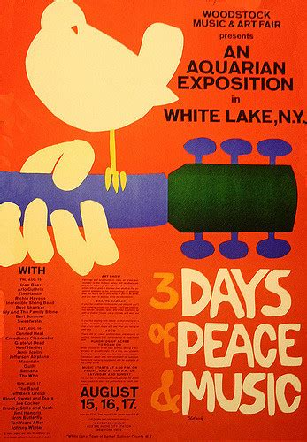Woodstock 1969   Music 345: Race, Identity, and