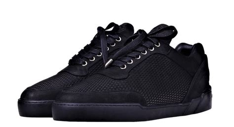Low-Top ALL BLACK NUBUCK - Benjamin Berner