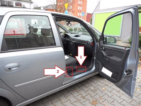 Opel Meriva (2003-2010) - Where is VIN Number | Find