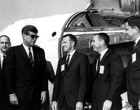 Kennedy's vision for NASA inspired greatness, then