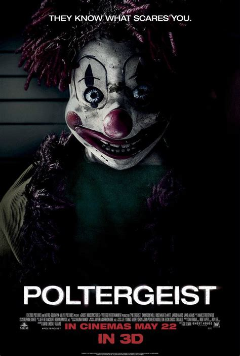 New 'Poltergeist' poster put scary clown forward, new
