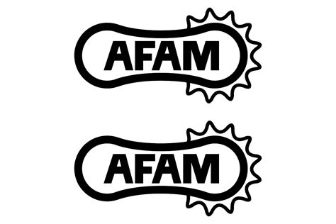 Afam logo stickersChoose the color yourselfand select the