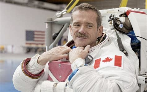 Astronaut Chris Hadfield brings his one-man space show to