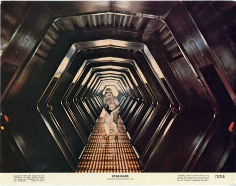 Space Age Star Wars Lobby Cards From 1977