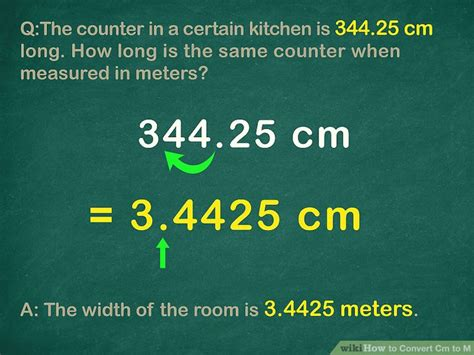 3 Easy Ways to Convert Centimeters to Meters (cm to m