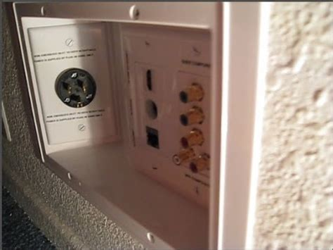 How to make you own Recessed Male Power Outlet Tap - YouTube