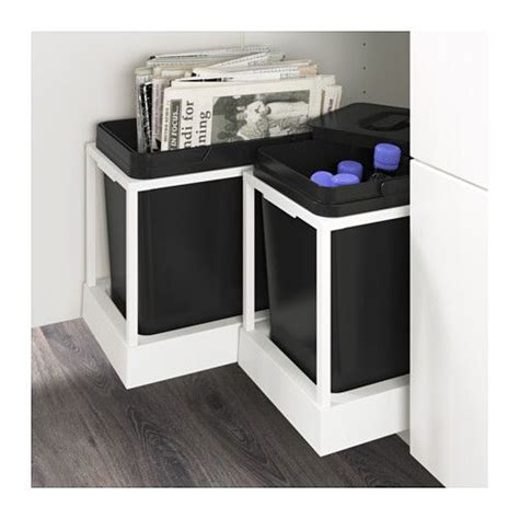 UTRUSTA Pull-out recycling bin tray - IKEA - $34 plus the