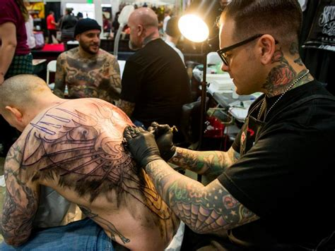 Photos: Orange County tattoo artists on display at Musink
