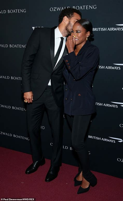 Jesse Williams and girlfriend Taylour Paige are stylish