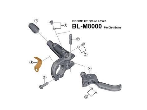 SHIMANO Band Adapter for I-Spec II Brake Lever, 1,50