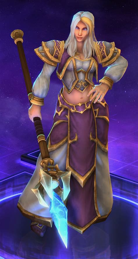 Jaina Proudmoore – Abilities, Quotes, and Skins Lore