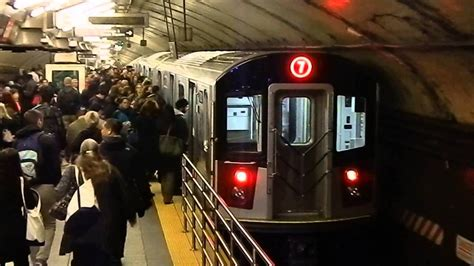 MTA New York City Subway Times Square-42 Street Bound R188