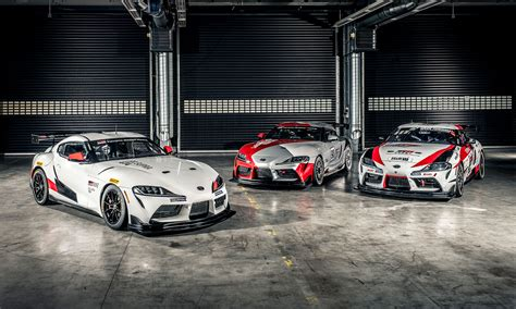 Here's The First Look At The GR Supra GT4 Race Car That