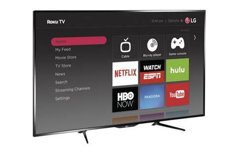 Roku TV brains now available on LG TVs at Best Buy - CNET