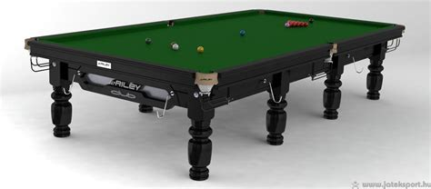 Riley Club Steel Block snooker asztal 12' | Játéksport