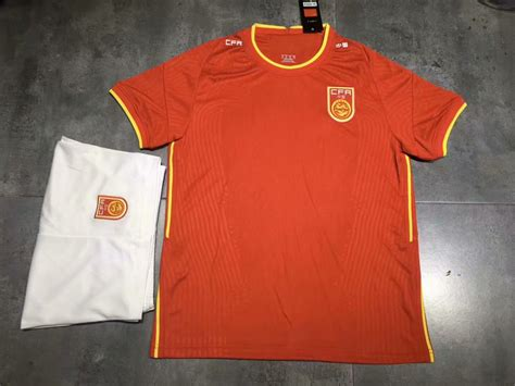 2020-2021 Youth Adult Kit China New Soccer Uniforms