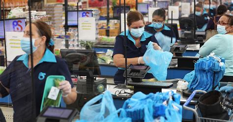 Grocery Workers 'Downright Afraid' As Masks Become 'War'