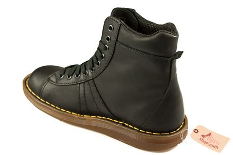 Dr Martens 2B25 Mel 10 Eye Boot Noir chaussures | AlysseShop