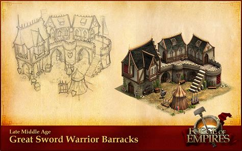 Artwork: amazing concept art of the game - Forge of Empires