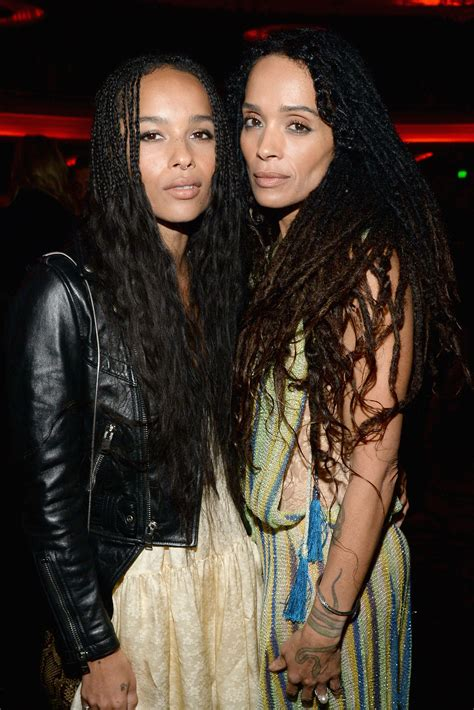 Zoë Kravitz and Lisa Bonet Attend the Fall 2016 Saint
