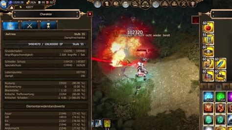 Drakensang Online - Amatrisi Stats and Items with Dragan