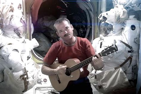 Chris Hadfield's 'Space Oddity' video removed from YouTube