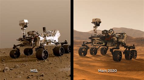 Side-by-Side: Curiosity and Mars 2020 – NASA's Mars