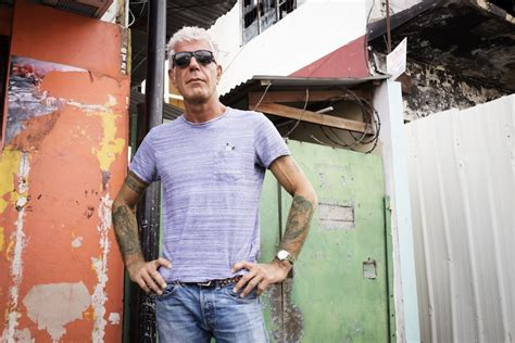 Remembering Anthony Bourdain: The Late Chef On Tattoos