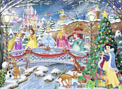 Puzzle Christmas with the Disney Princesses Nathan-87151