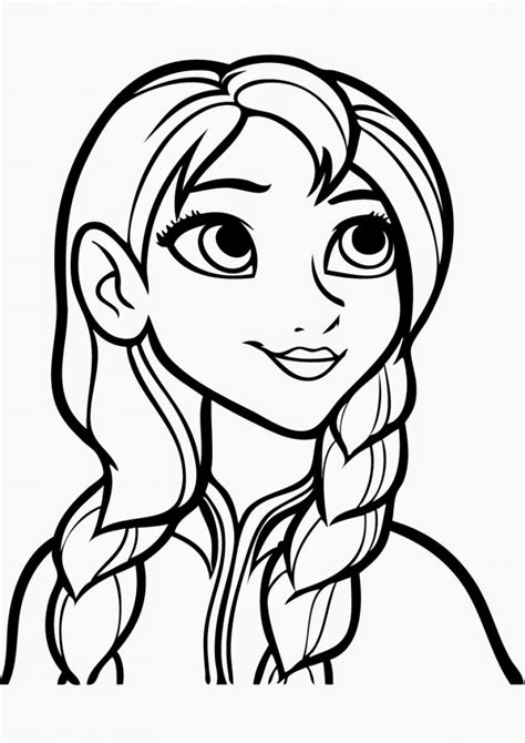 Free Printable Frozen Coloring Pages for Kids - Best