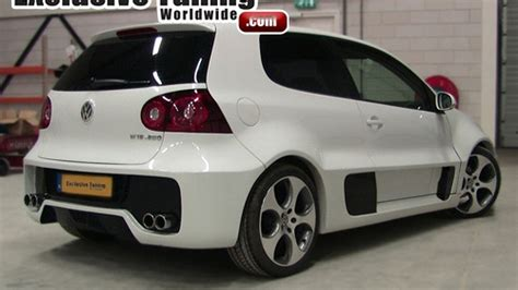 VW Golf W12 Concept Body Conversion for Golf V - Good or