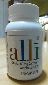 ALLI WEIGHT LOSS 60MG 120 CAPSULES EXP 04/2021 ( 100