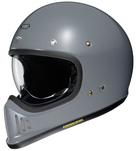 The New Shoei EX-Zero Helmet - Modern Safety, Retro Looks