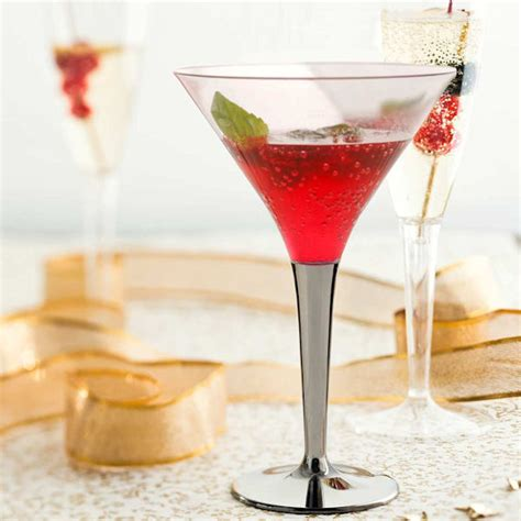 AA Catering Disposables   P120- Plastic Cocktail Glass