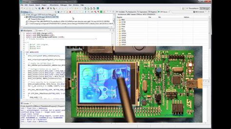 STM32F429 Discovery board supported by Emprog ThunderBench