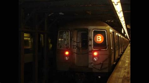 MTA NYC Subway: Westinghouse R68A (B) train recording