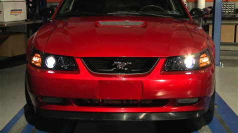Mustang Smoked Projector Headlights (99-04 All) Review