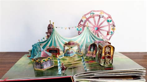 Circus Zingaro- A pop-up book (finished version) - YouTube