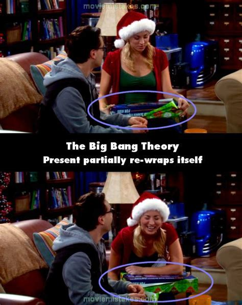 The Big Bang Theory (2007) TV mistake picture (ID 146591)