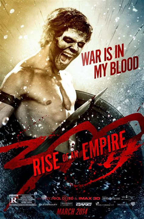 300: RISE OF AN EMPIRE - Two Character Posters — GeekTyrant