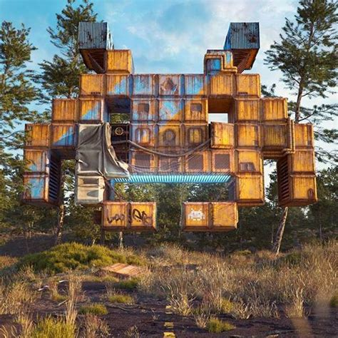 The Post Apocalyptic 3D Pop Culture Sculptures Created by