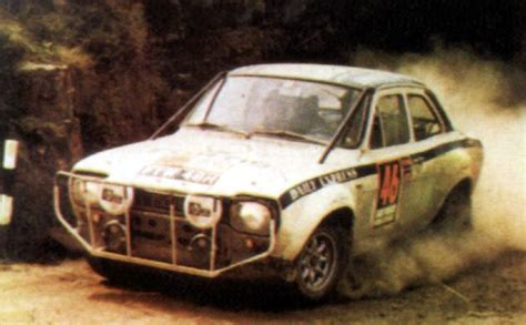 Ford Escort Twin Cam - Daily Mirror London-Mexico World