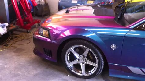 1999 Saleen Mustang S351 Color Changing Speedster - YouTube