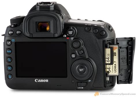 Fastest SD and CF Cards for the Canon 5D Mark IV - A