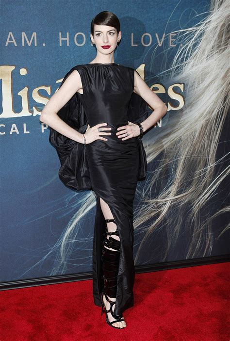 Look, no underwear: Anne Hathaway is 'devastated' by